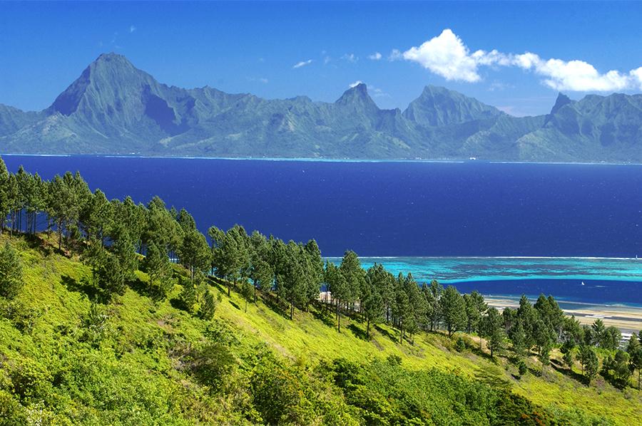 タヒチ島パペーテの魅力