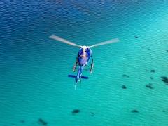 オープンハート・ツパイ島 ヘリコプター遊覧