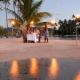 DT03 《ル タハア  リゾート&スパ》 ビーチでのプライベートディナー