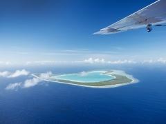 OPENハート・ツパイ島 水上飛行機 上空遊覧 (30分)ツアー