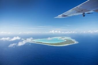 BL11:OPENハート・ツパイ島 水上飛行機 上空遊覧(30分)ツアー
