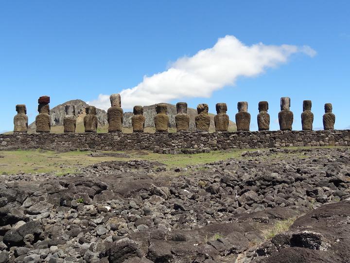 タヒチ島パペーテ&イースター島+ボラボラ島4泊ステイ15日間の旅