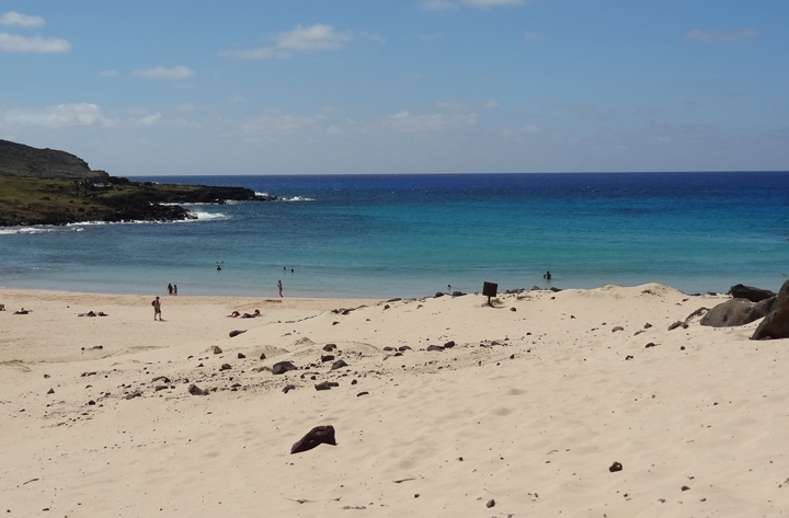 パペーテ(タヒチ島)&イースター島+ボラボラ島2泊ステイ13日間の旅