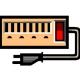O03:変圧器(変換プラグ付き)レンタル