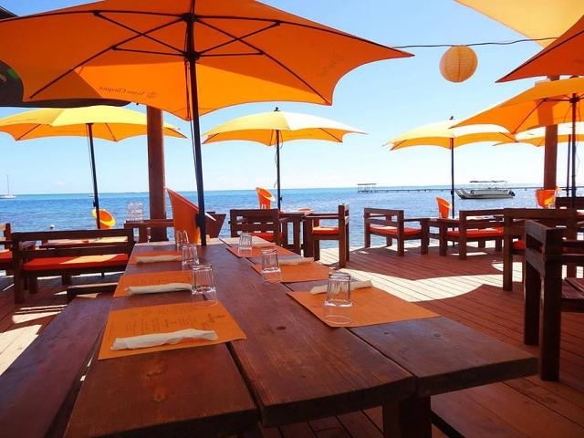 Moorea Beach Caféでのディナー