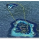 BL14:OPENハート・ツパイ島   ヘリコプター 上空遊覧(30分)ツアー