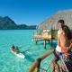 DB22 《ボラボラ パールビーチ リゾート アンド スパ》 カヌー朝食サービス