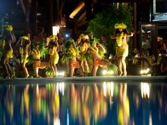 《マナヴァ モーレア》ブッフェディナー&タヒチアンダンスショー